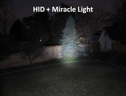 HID plus Miracle Light
