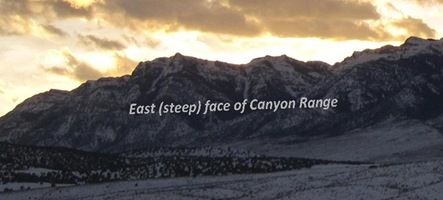 East Face Canyon Range