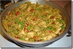 Arroz con pollo: imagen propiedad de cocina.org