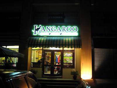 Kangaroo Coffee Company, located in Tionko Avenue, Davao City