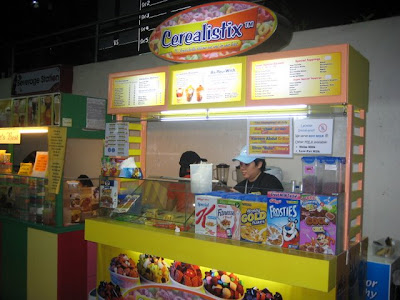 Cerealistix Stall at Ateneo de Davao College Foodcourt