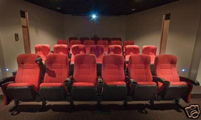 Recliner seats similar to the cinema chairs in Gaisano Mall of Davao Cinema 6