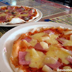 Hawaii and Fantastico pizza at Mamma Maria's Pizzeria