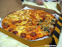 Yellow Cab Pizza Co.'s Four Seasons Pizza