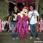 With Minnie Mouse at Disneyland Hong Kong