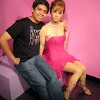 Ayumi Hamasaki at Madame Tussauds in The Peak, Hong Kong