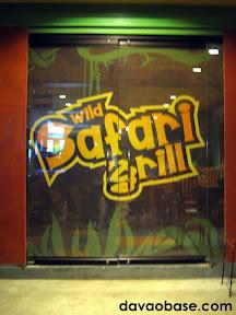 Wild Safari Grill, F. Torres Street, Davao City