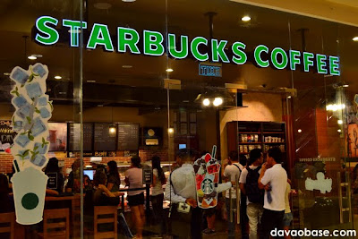 Starbucks Coffee in Abreeza Mall, Davao City