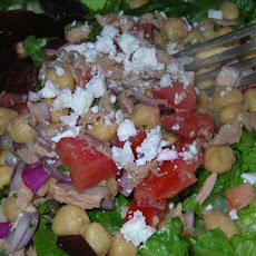 Tuna Garbanzo Bean Salad
