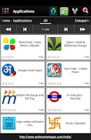 Screenshot of Indian apps and games