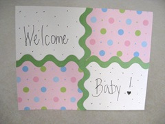 Welcome Baby front