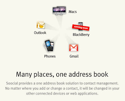 Soocial, Sync Your Address Book