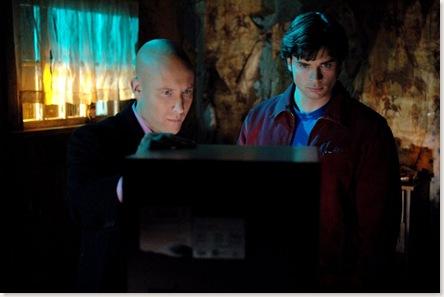 Clark y Lex ¿viendo porno?