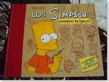 Los Simpson - cuaderno de dibujo