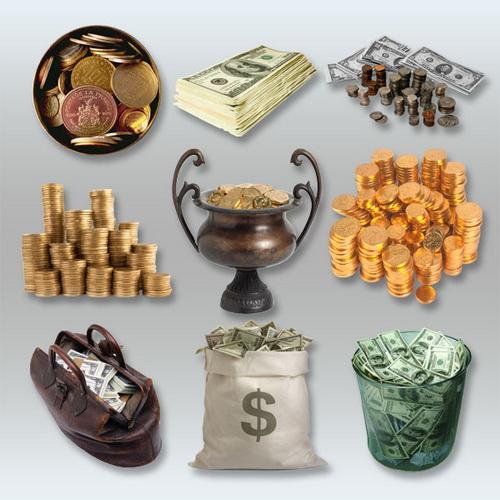 Клипарт - Деньги
