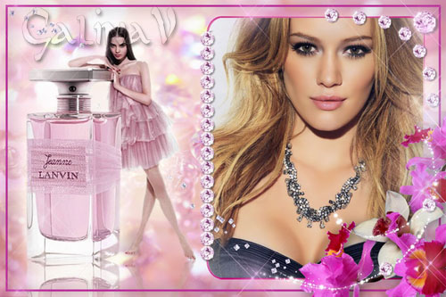 Рамка для фото - Розовый гламур
