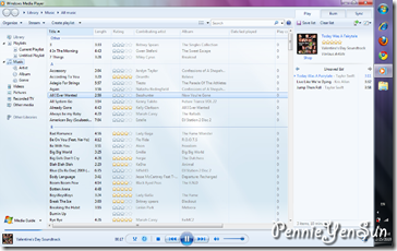 Windows Media Player (Windows 7 Ultimate)