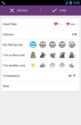 Runtastic Pedometer PRO - screenshot