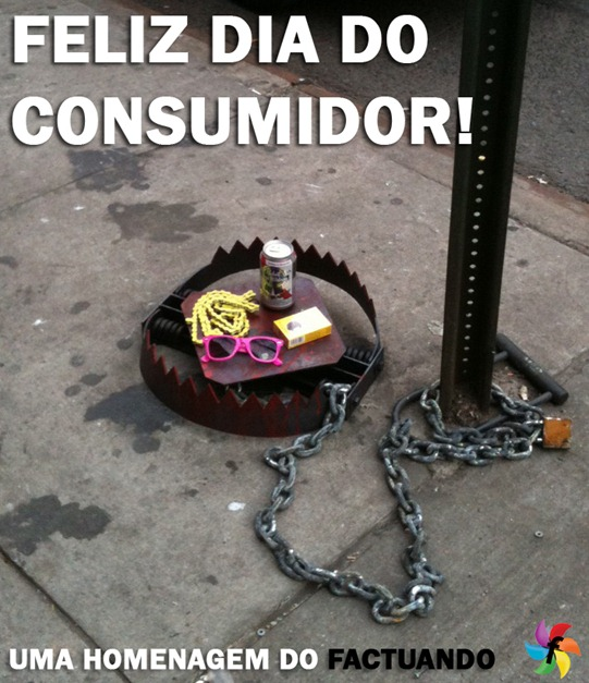 feliz dia do consumidor
