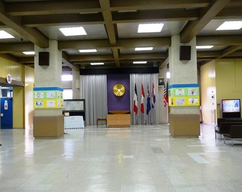 interior do velho alojamento