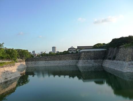 fosso e muralha - castelo osaka