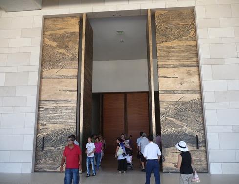 porta de entrada da igreja imaculada