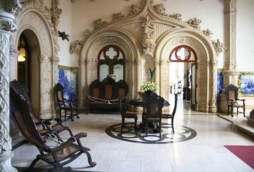 10 - Palácio de Buçado- interior do castelo