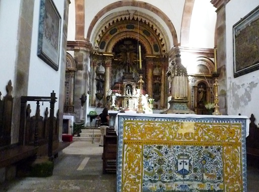 20-  Palácio de Buçaco- interior do convento-igreja
