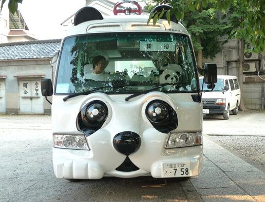 free shuttle bus - onibus panda