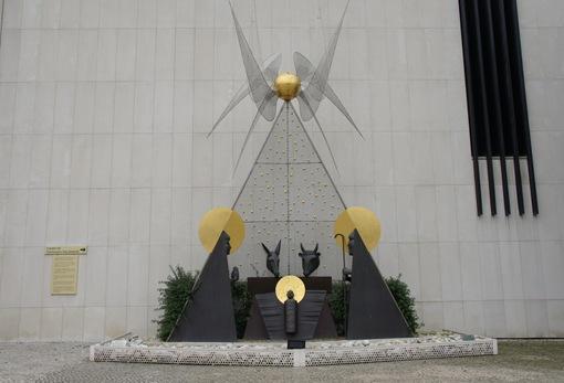 santuário de fatima - Presépio da autoria do escultor José Aurélio
