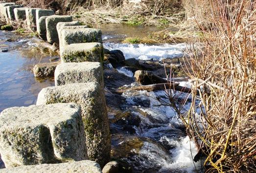 Idanha a Velha - poldras sobre o rio Pônsul 1