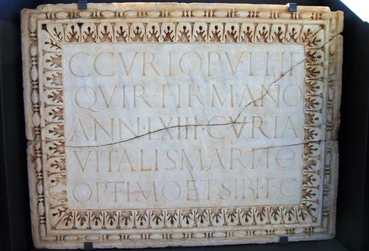 pedra epigrafada 1