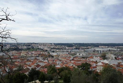 Pombal - vista da cidade a partir do castelo