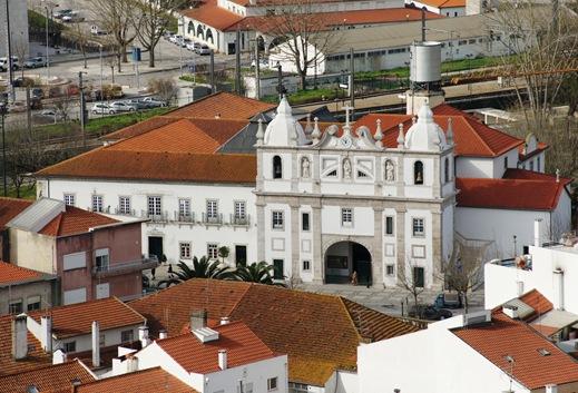 Pombal - Igreja Nossa Senhora do Cardal vista a partir do castelo 1