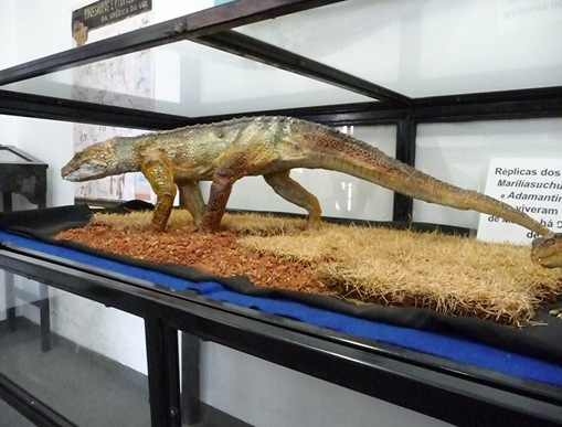 8. réplica do Mariliasuchus