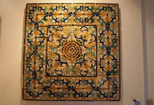 museu do azulejo - azulejos tipo padrão camelias