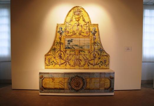 museu do azulejo - espaldar de banco