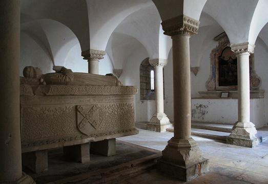 Ourém - Castelo - cripta