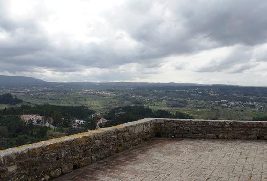 Ourém - vista do Castelo