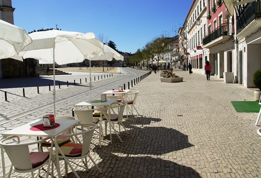Alcobaça - praça 25 de abril 1