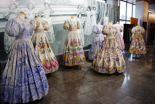Alcobaça - museu raul da bernarda - trajes do rancho do alcoa 1