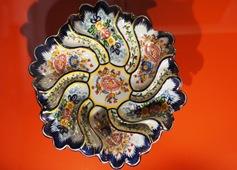 Alcobaça - museu bernarda - prato decorativo de parede 5