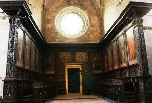 mosteiro dos Jeronimos - cadeiral