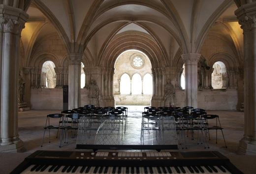 Mosteiro de Alcobaça - sala do capítulo 1