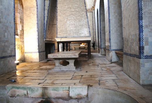 Mosteiro de Alcobaça - cozinha