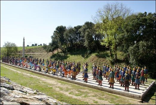 Buddha Eden - exercito em terracotta 9