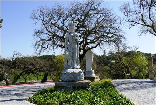 Buddha Eden - entrada para o jardim