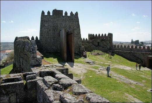 9.Trancoso -  castelo medieval - torre de menagem 1