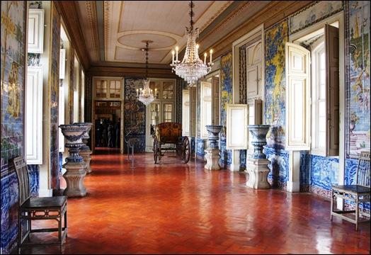 Palacio de Queluz - Sala dos azulejos