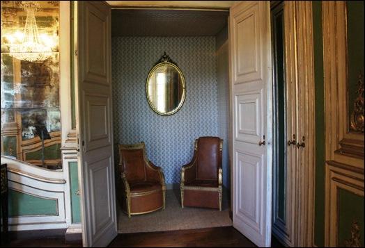 Palacio de Queluz - quarto da princesa d. carlota joaquina